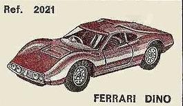 Ferrari Dino Nacoral 1/43