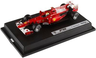 """Ferrari F10 """"GP. Barein"""" nº 7 Felipe Massa (2010) Hot Wheels 1/43"""