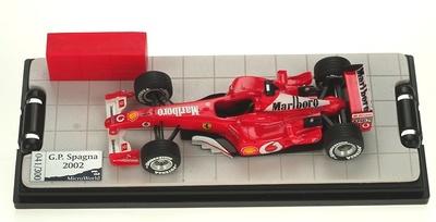 "Ferrari F2002 ""1º GP. España"" nº 1 Michael Schumacher (2002) MicroWorld 1/43"