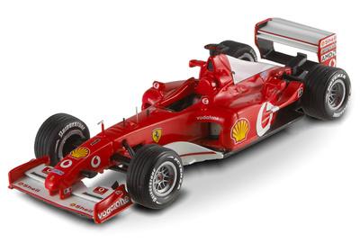 "Ferrari F2002 ""GP. Francia"" nº 1 Michael Schumacher (2002) Hot Wheels 1/43"