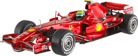 Ferrari F2008 nº 2 Felipe Massa (2008) Hot Wheels 1/43