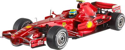 Ferrari F2008 nº 2 Felipe Massa (2008) Hot Wheels 1/43