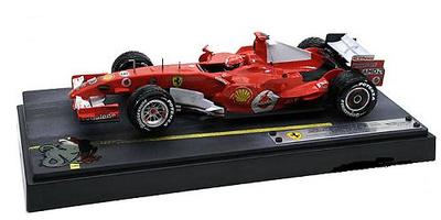 "Ferrari F248 ""GP Shangai"" nº 5 Michael Schumacher (2006) Hot Wheels 1/18"