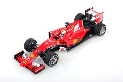 "Ferrari SF15-T ""GP. Bélgica"" nº 5 Sebastian Vettel (2015) Look Smart 1/43"