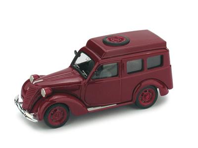 "Fiat 1100 Furgone ""Polizia Stradale"" (1950) Brumm 1/43"
