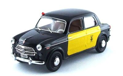 """Fiat 1100 """"Taxi de Barcelona"""" (1956) Rio 1:43"""