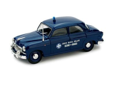 """Fiat 1400 """"Automedica Croce Blanca Milano"""" (1950) Brumm 1/43"""