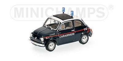 "Fiat 500 ""Carabinieri"" (1965) Minichamps 1/43"