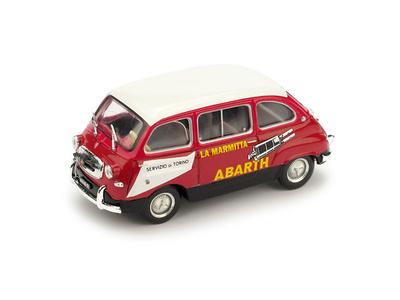 "Fiat 600 Multipla ""Asistencia Abarth"" (1960) Brumm 1/43"
