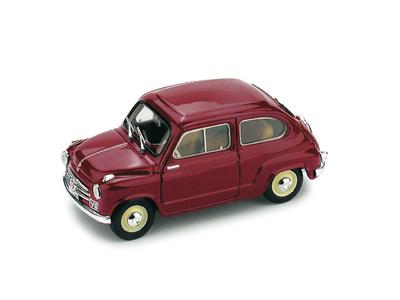 """Fiat 600 """"Polizia Stradale"""" (1955) Brumm 1/43"""
