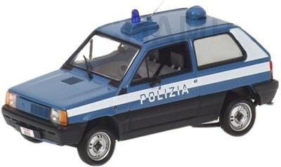 Fiat Panda (1980) Polizia Minichamps 1/43