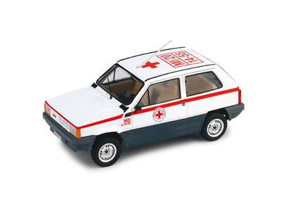 "Fiat Panda 45 ""Cruz Roja Italiana"" (1980) Brumm R398 1/43"