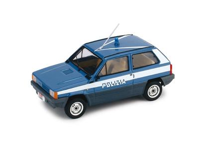 "Fiat Panda 45 ""Polizia Stradale"" (1980) Brumm 1/43"