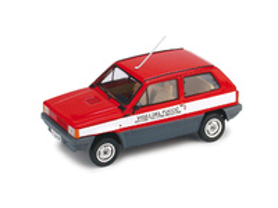 "Fiat Panda 45 ""Vigili del Fuoco"" (1980) Brumm 1/43"