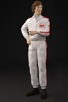 Figura Jochen Rindt Figurenmanufaktur 1:18