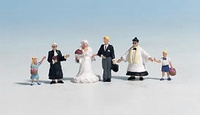 Figuras Boda Noch 1/87