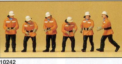 Figuras Bomberos en acción Preiser 1/87