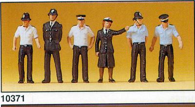 Figuras Policia Británica Preiser 1/87