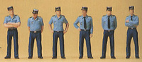 Figuras Policia Francesa Uniforme de Verano Preiser 1/87