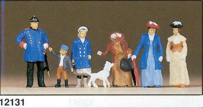 Figuras Policia con personajes (1900) Preiser 1/87