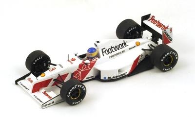 "Footwork FA12 ""GP. Mónaco"" nº 9 Michele Alboreto (1991) Spark S3980 1:43"