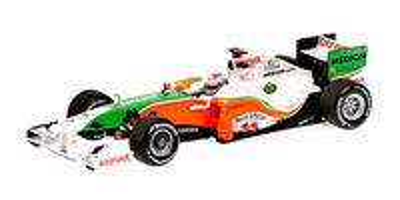 Force India VJM02 nº 20 Adrian Sutil (2009) Minichamps 1/43