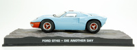 "Ford GT40 (1964) James Bond ""Die Another Day"" Fabbri 1/43 Entrega 52"