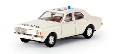 "Ford Taunus ""Polizei"" (1970) Brekina 1/87"