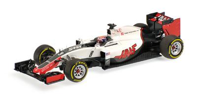 Haas VF-16 nº 8 Romain Grosjean (2016) Minichamps 1:43