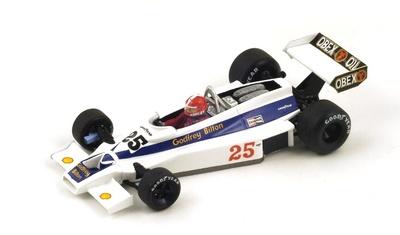 """Hesketh 308E """"GP. USA"""" nº 25 Ian Ashley (1977) Spark 1:43"""