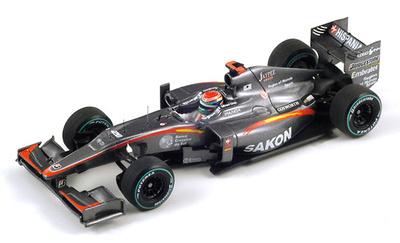 "Hispania F110 ""GP Bélgica"" nº 20 Sakon Yamamoto (2010) Spark 1/43"