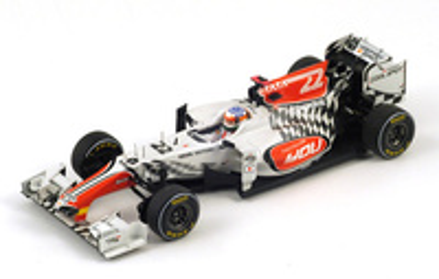 """Hispania F111 """"GP. China"""" nº 22 Narain Karthikeyan (2011) Spark  1/43"""