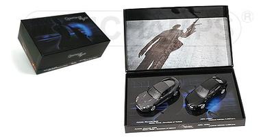 "James Bond SET Aston Martin DBS + Alfa 159 (2008) ""QUANTUM OF SOLACE"" Minichamps 1/43"
