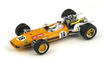 """LDS Mk3 """"GP Sudafrica"""" nº 18 Sam Tingle (1968) Spark 1:43"""
