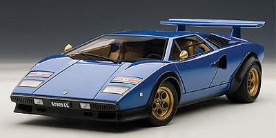 Lamborghini Countach LP500S Walter Wolf Edition (1974) Autoart 1:18