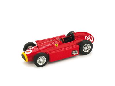 """Lancia Ferrari D50 """"4º GP. Mónaco"""" nº 20  Juan Manuel Fangio (1956) Brumm 1/43"""