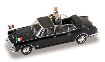 "Lancia Flaminia Presidencial ""Gral. De Gaulle / Saragat"" (1961) Starline 1/43"