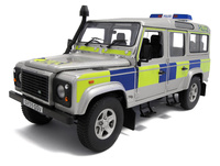 "Land Rover Defender 110 TD5 ""Policia Battenberg"" (2010) UH 1:18"