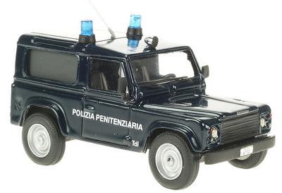 """Land Rover Defender 90 """"Polizia Penitenziaria"""" (1990) Giocher 1/43"""