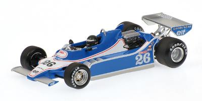 "Ligier JS11 ""1º GP. Brasil"" nº 26 Jacques Laffite (1979) Minichamps 1/43"