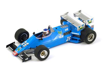 "Ligier JS21 ""GP. Mónaco"" nº 26 Raul Boesel (1983) Spark S1794 1:43"
