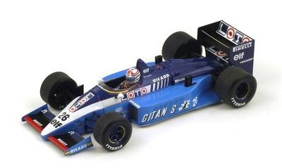 """Ligier JS27 """"6º GP. Mexico"""" nº 26 Phillipe Alliot (1986) Spark 1:43"""