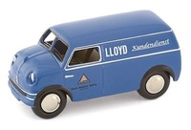 """Lloyd LT500 (1952) Furgoneta """"Lloyd Kundendienst"""" Bub 1/87"""