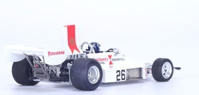 "Lola T370 ""6º GP. Suecia"" nº 26 Graham Hill (1974) Spark 1:43"