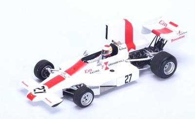 "Lola T370 ""GP. Argentina"" n°27 Guy Edwards (1974) Spark 1:43"