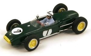 "Lotus 18 ""GP. Gran Bretaña"" nº 7 Innes Ireland (1960) Spark 1:43"