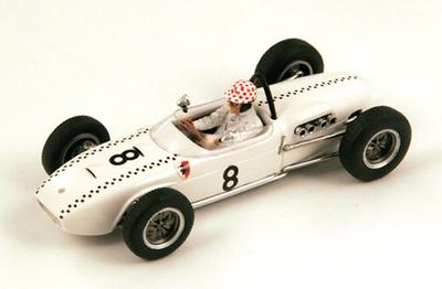 "Lotus 18 ""GP. Mónaco"" nº 8 Michael May (1961) Spark 1:43"