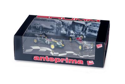 """Lotus 25 + Chasis """"GP Italia"""" nº 7 Jim Clark (1963) Brumm 1/43"""