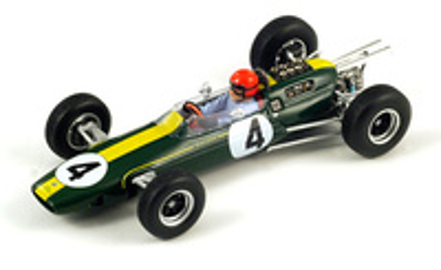 "Lotus 25 ""4º GP Francia"" nº 4 Peter Arundell (1964) Spark 1/43"