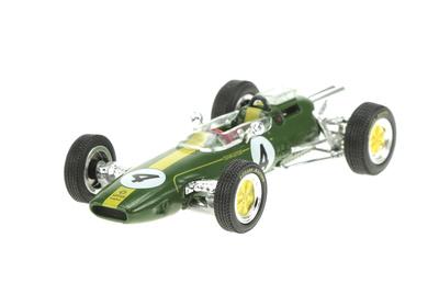 Lotus 25 nº 4 Jim Clark (1963) Sol90 1:43